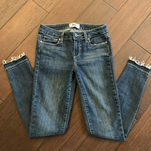EUC Paige Verdugo Ankle skinny jeans